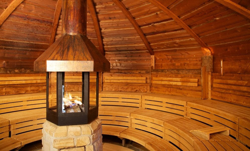 Sauna in der Sylter Welle